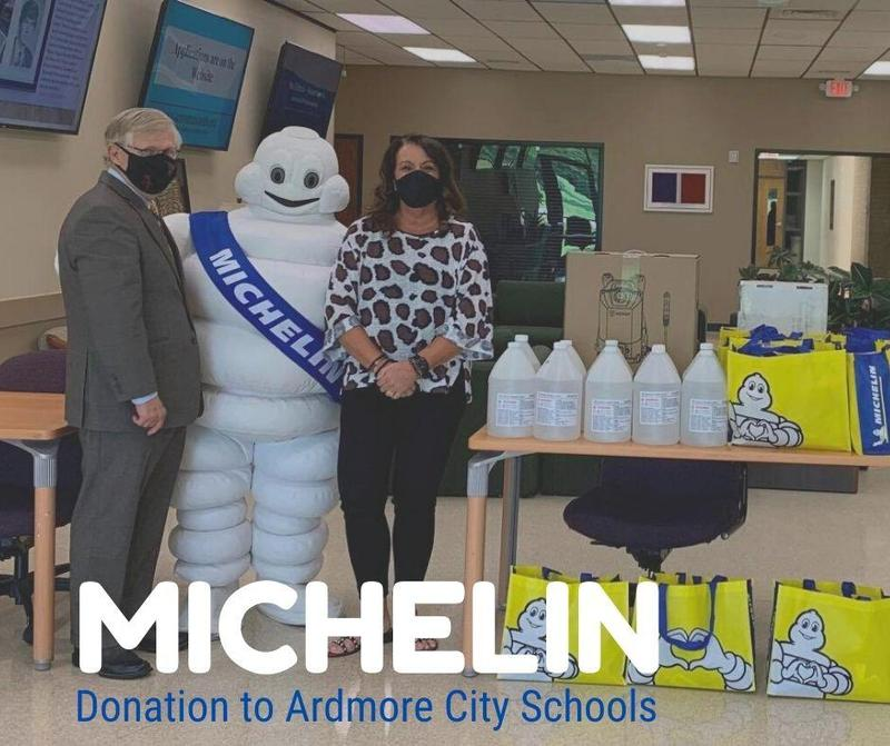 Michelin Donation Featured Photo