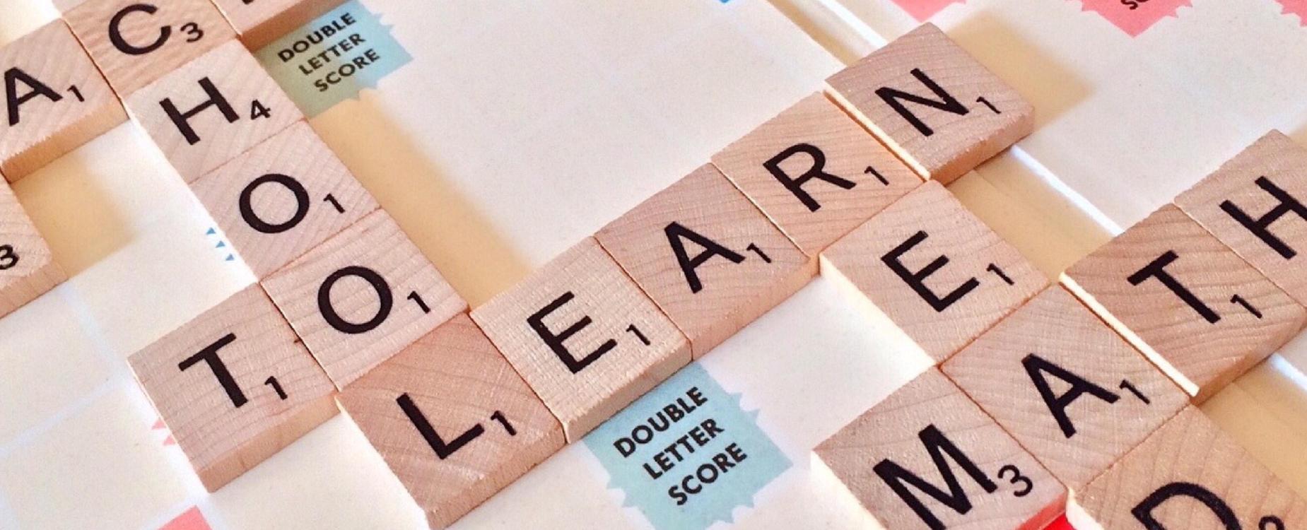 Scrabble board