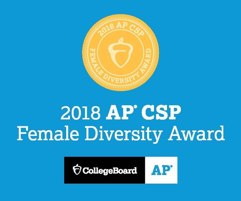 Molloy Receives AP® Computer Science Female Diversity Award Featured Photo