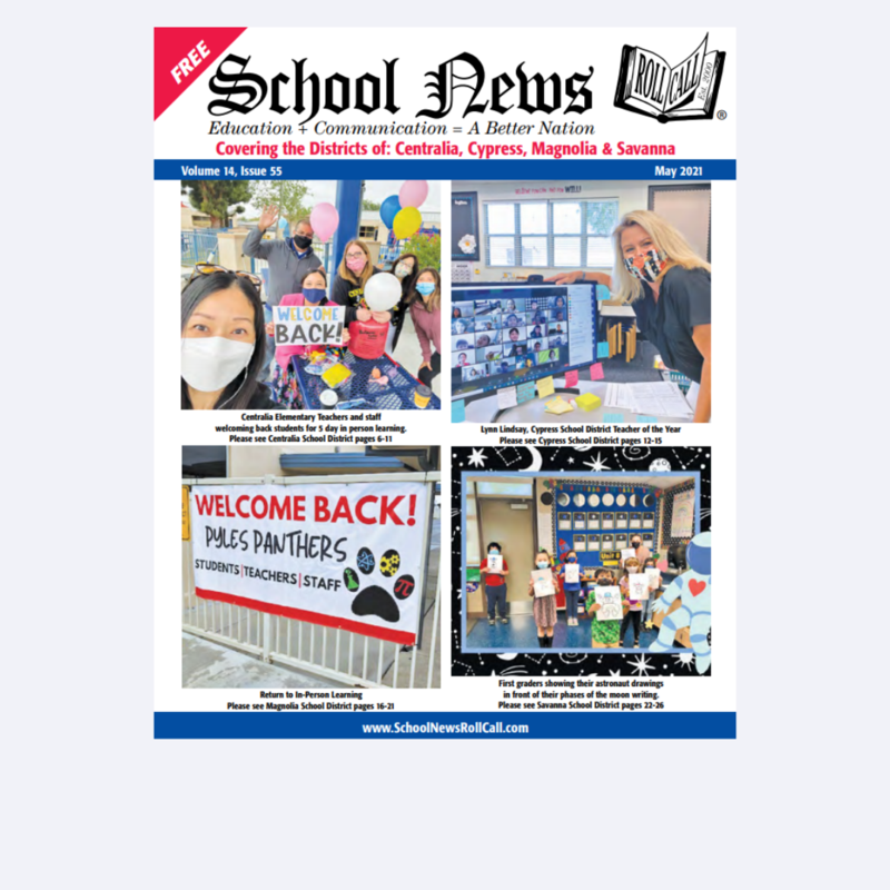 School News: May 2021 Issue