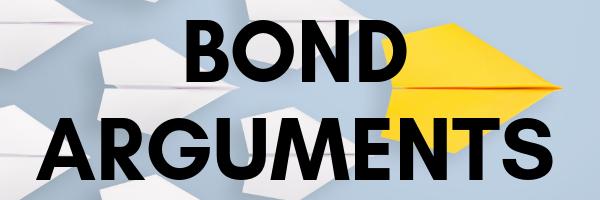 Bond Arguments button
