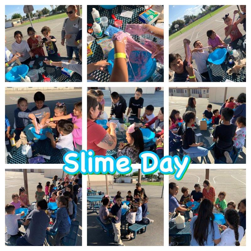 @ProfeMsVgodinez · Nov 22 Principal Godinez  @LincolnPUSD  had a day filled with blessings. I had the opportunity to make slime with 50 students! Thank you PTA parents. #Proud2BePUSD