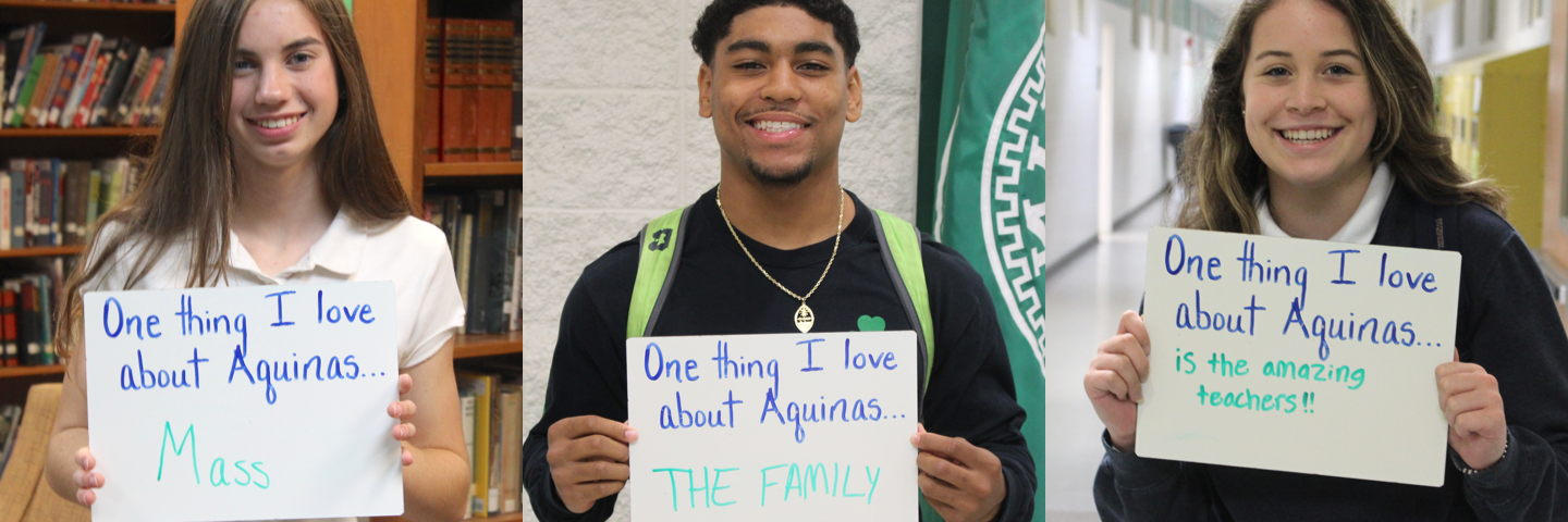 Things our students love about Aquinas