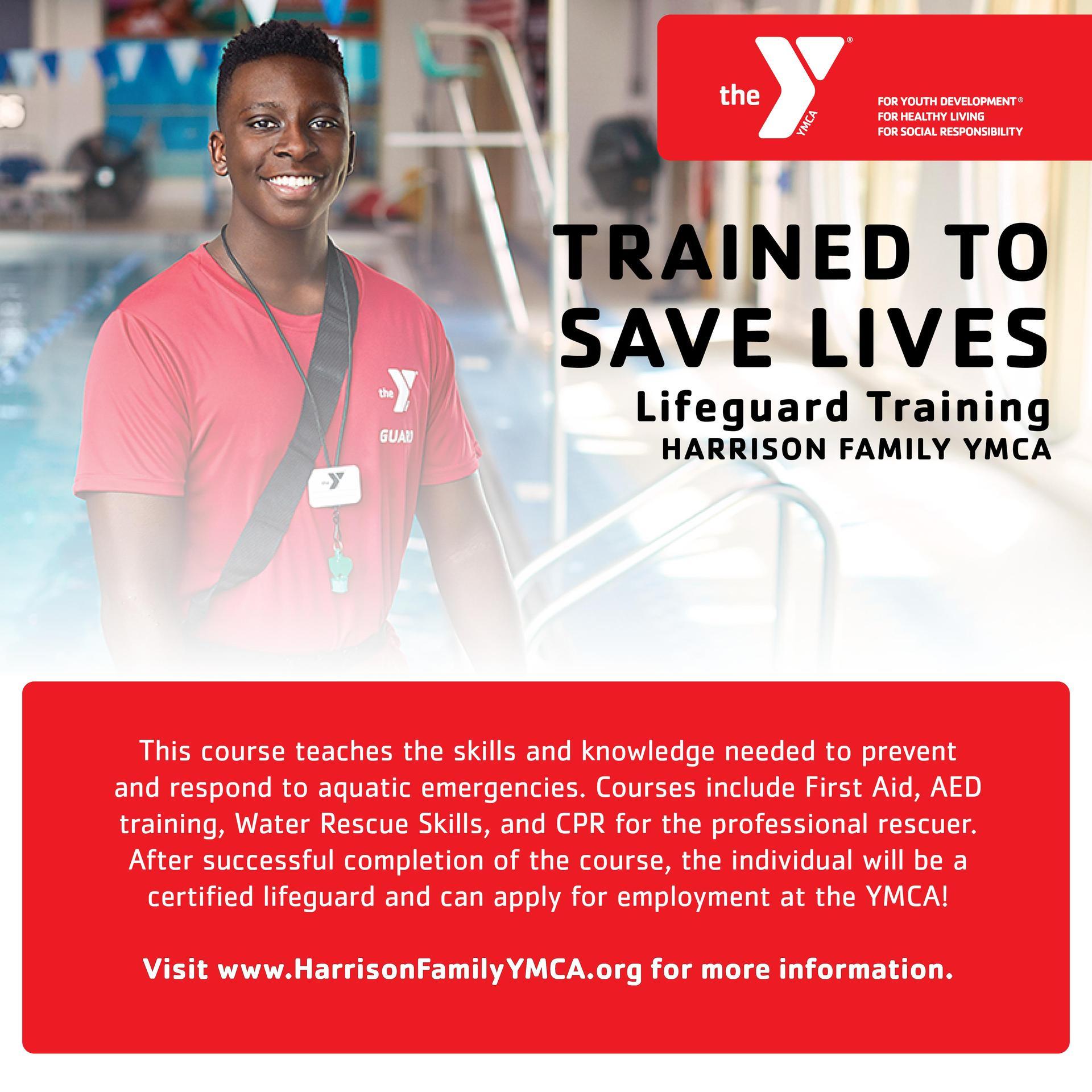 YMCA Lifeguard Training