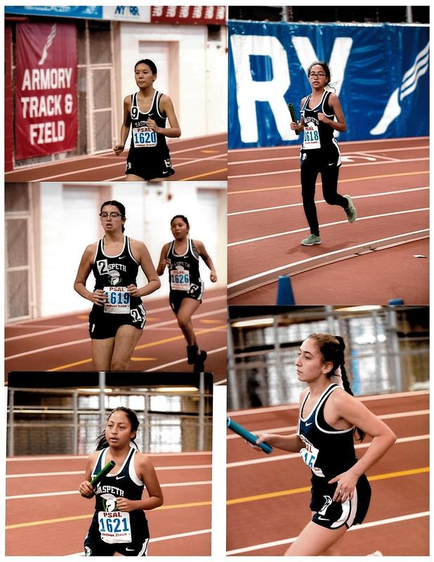 Maspeth High Varsity Runners Compete At Millrose Games Featured Photo