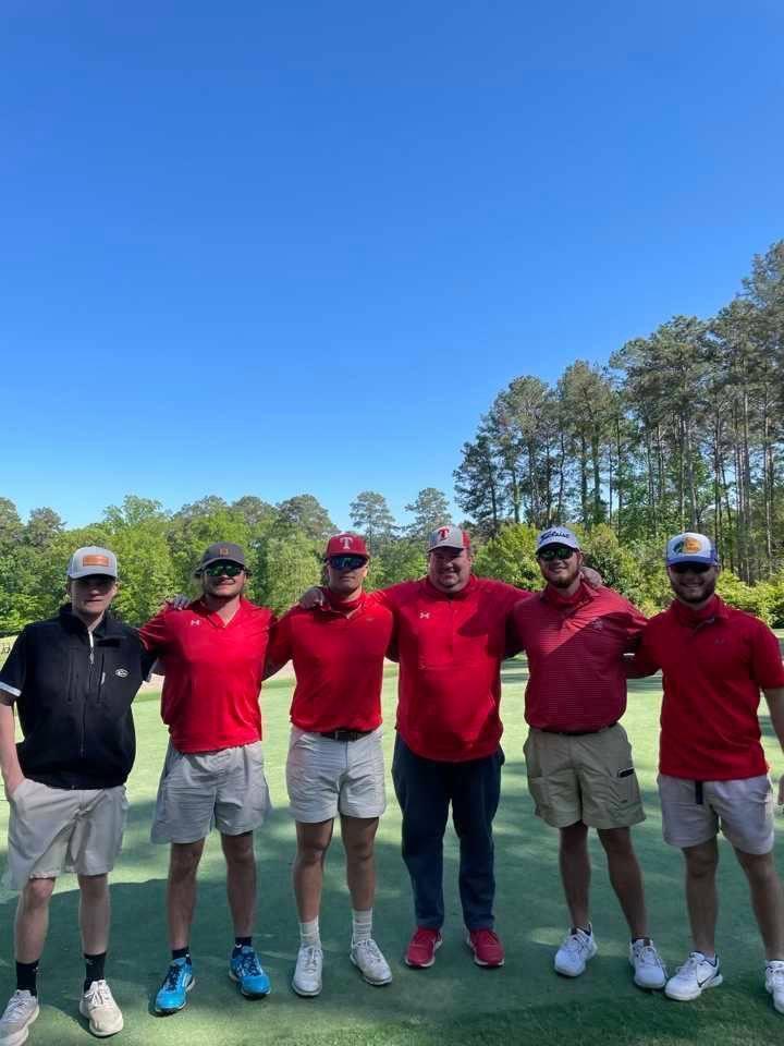 NEHS 2021 Golf Team