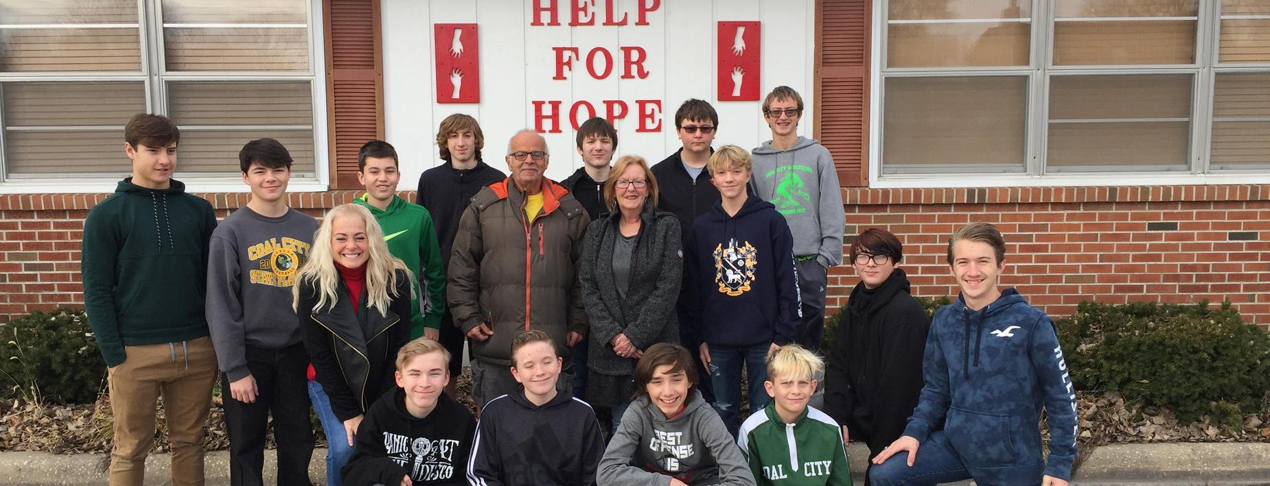 Help for Hope Thanksgiving donations by Footnotes