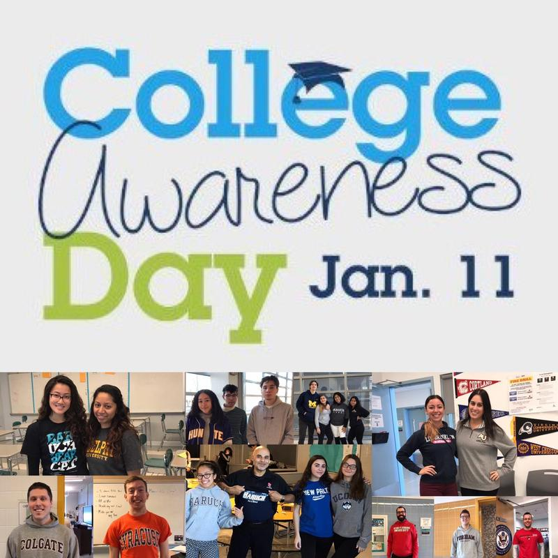Maspeth High School Celebrates College Awareness Day Featured Photo