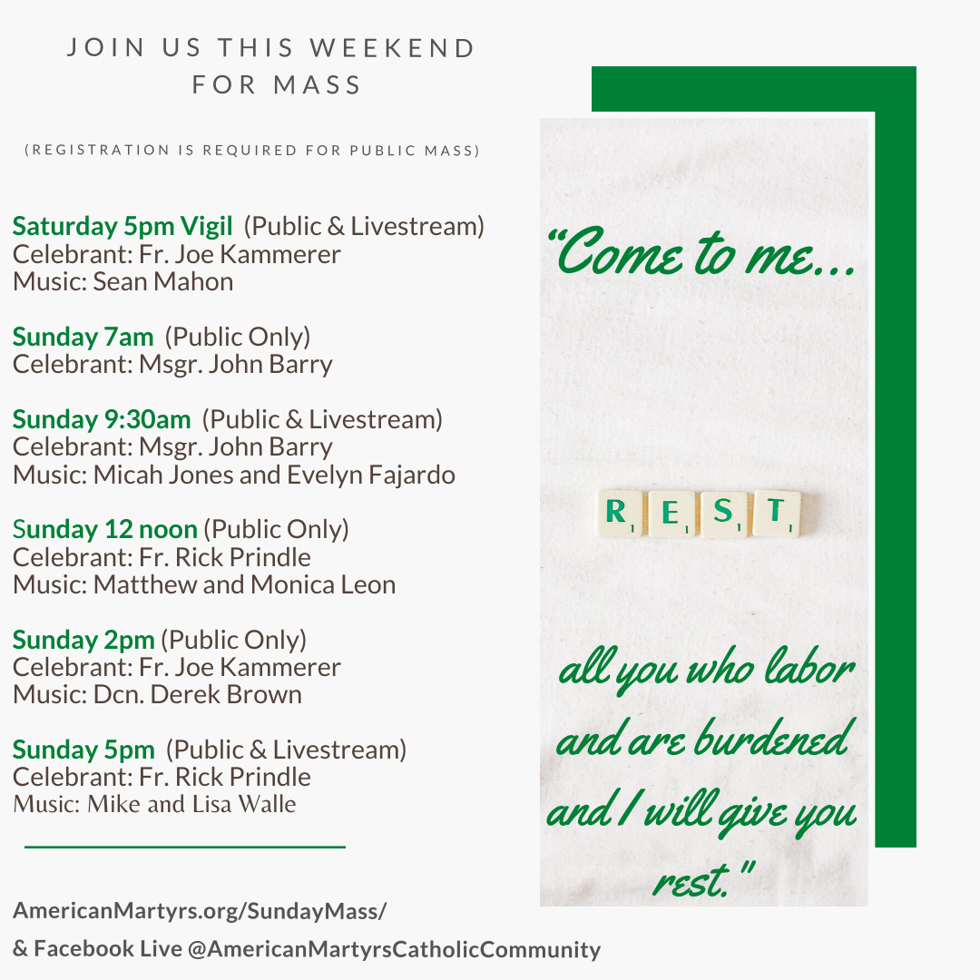 If you are celebrating Mass virtually, we invite you to Curbside Communion Image