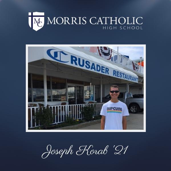 Student Spotlight: Joseph Korab '21 Thumbnail Image