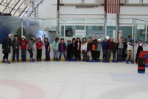 3rd Grade Students Ice Skating