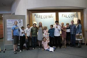 A picture of all the Escalante Peregrine Falcon presenters