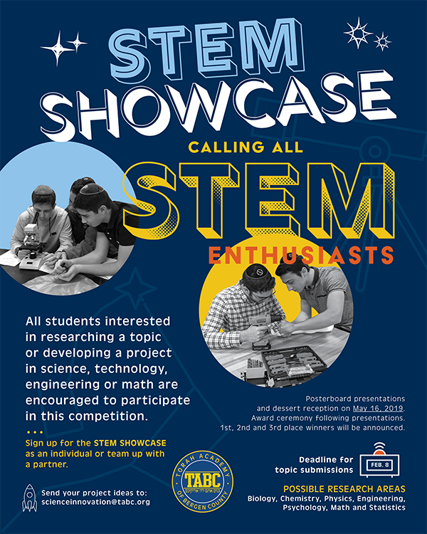 JOIN US FOR THE STEM SHOWCASE! Thumbnail Image