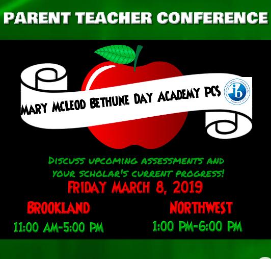Mary McLeod Bethune Day Academy PCS an IB World School
