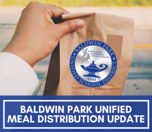 In observance of Memorial Day on May 25, BPUSD will not distribute meals.