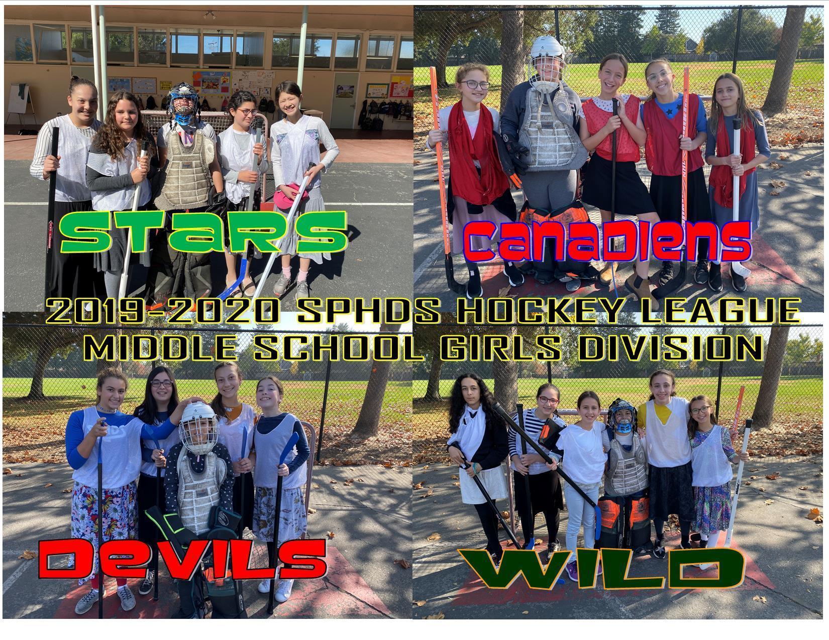 Middle School Teams2