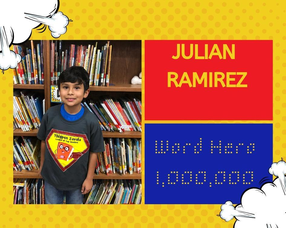 Julian Million Word Reader