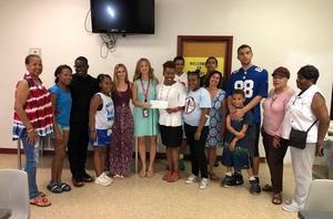 Tamaques School raises money for local community center.