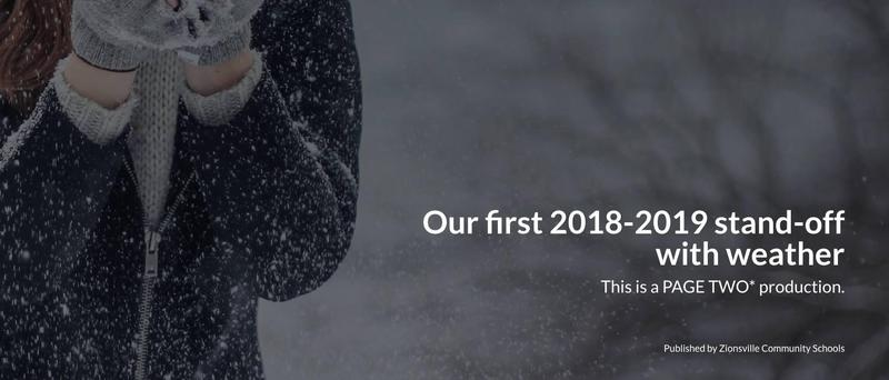Our First 2018-19 Stand-off with Weather Thumbnail Image