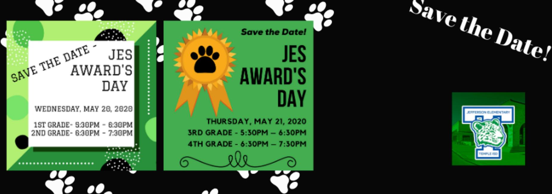 Awards day info