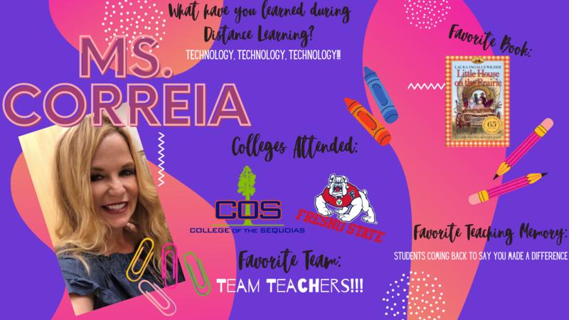 Ms. Correira