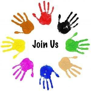 Join Us-Hands in circle