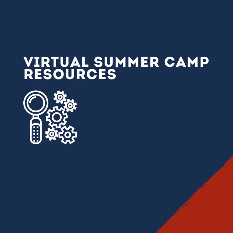 Graphic for Virtual Summer Camp