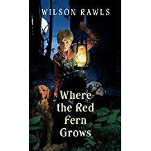 Book cover Where the Red Fern Grows