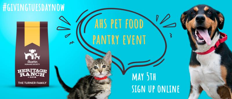 AHS Pet Pantry