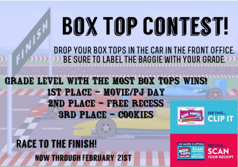 Box Top Contest - Now through February 21st Featured Photo