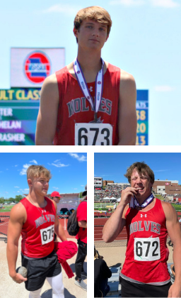 track and field medalists