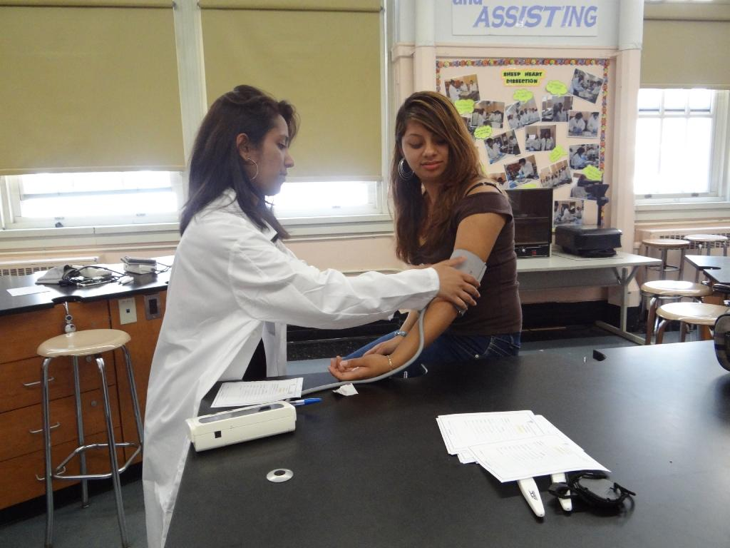Medical Assisting Students