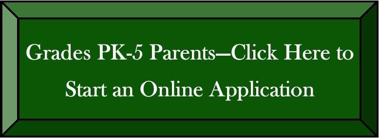 Pk-5 Online Application Button