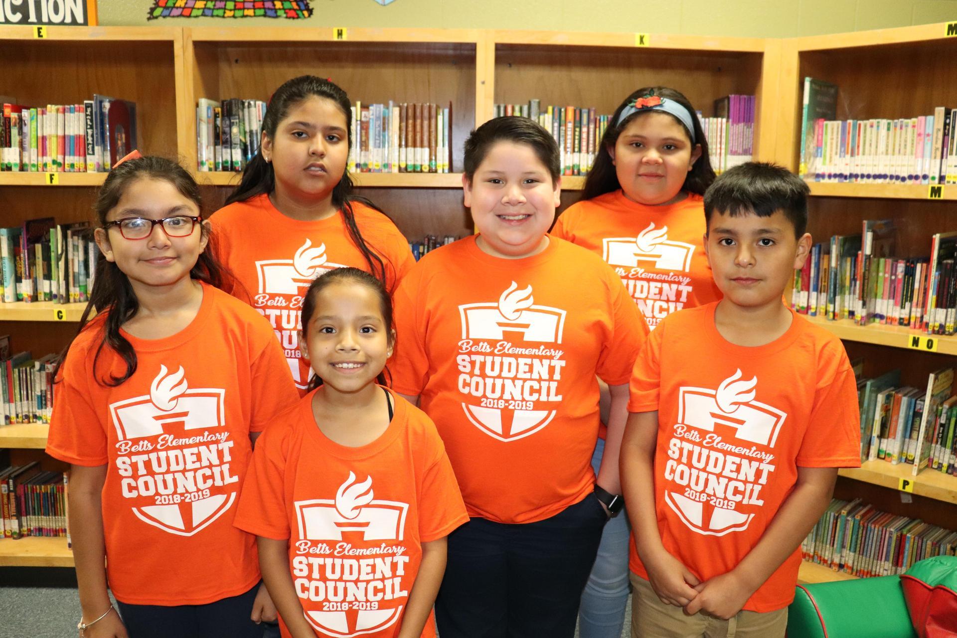 Image of 4th grade Representatives