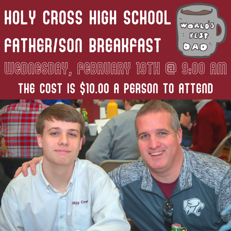 Father/ Son Breakfast Tickets are now available! Featured Photo