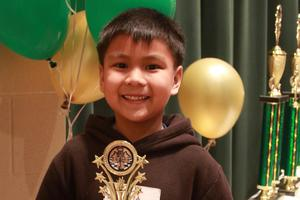 Chess champ Lucas Zulueta