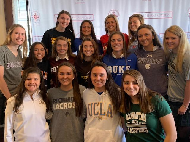 SHA Student-Athletes Recognized for College Commitments Featured Photo