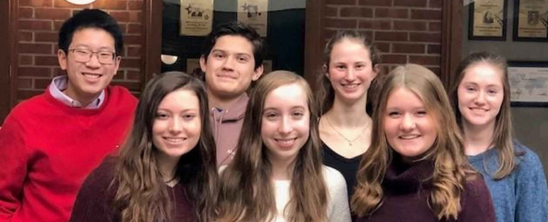 2020 ZCHS National Merit Scholarship Finalists
