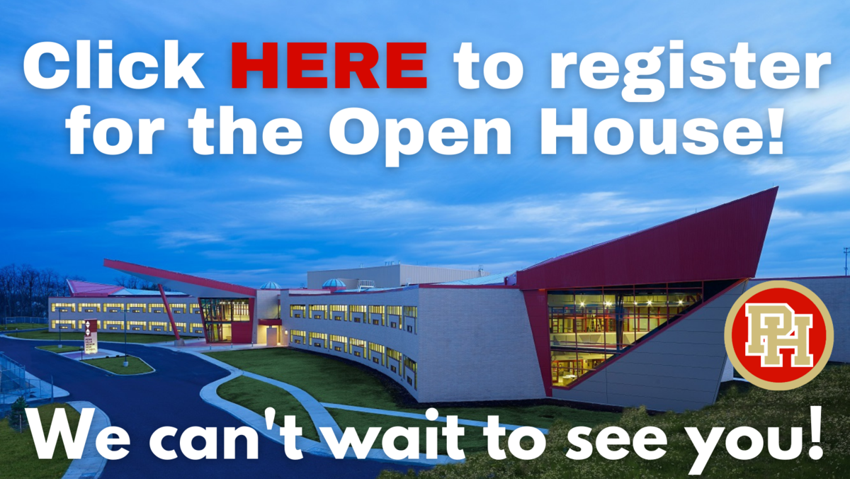 Click here to register for the open house.