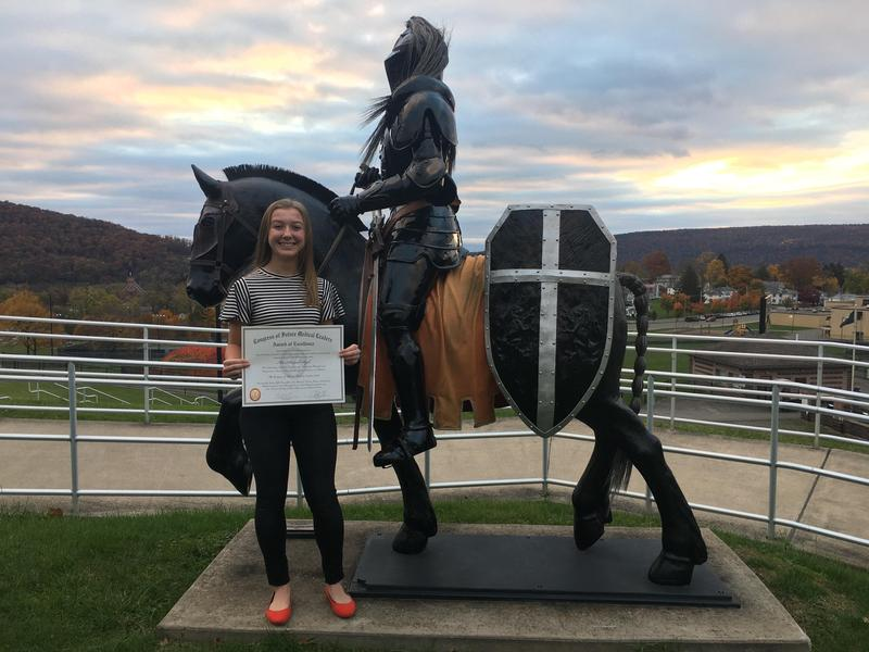 Hannah Ryck - Award of Excellence for Congress of Future Medical Leaders