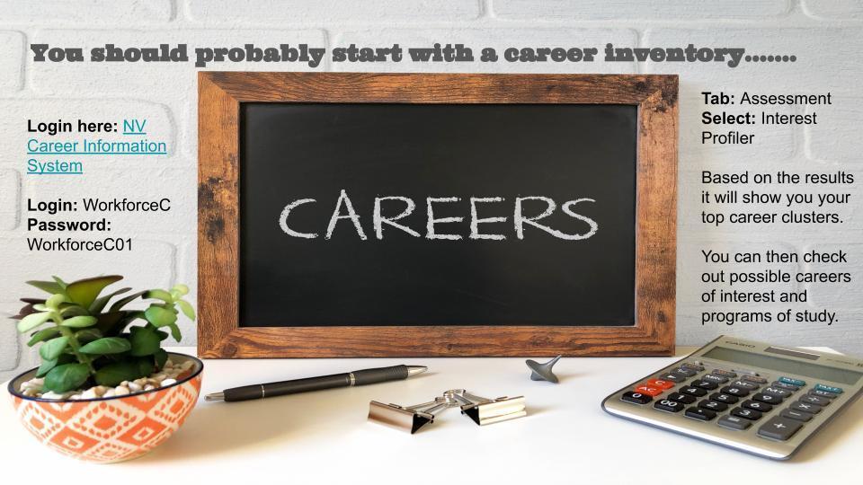 Nevada Career Information System