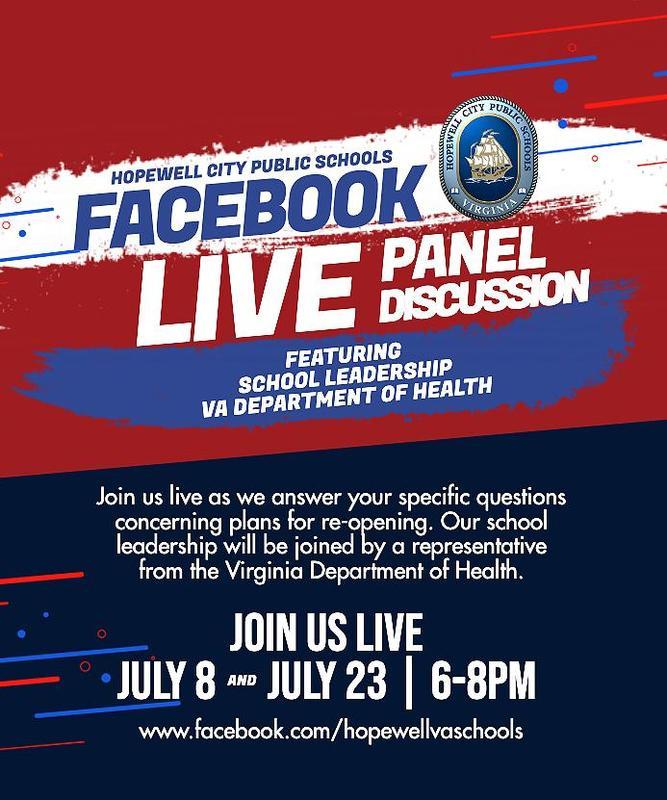 FB live flyer