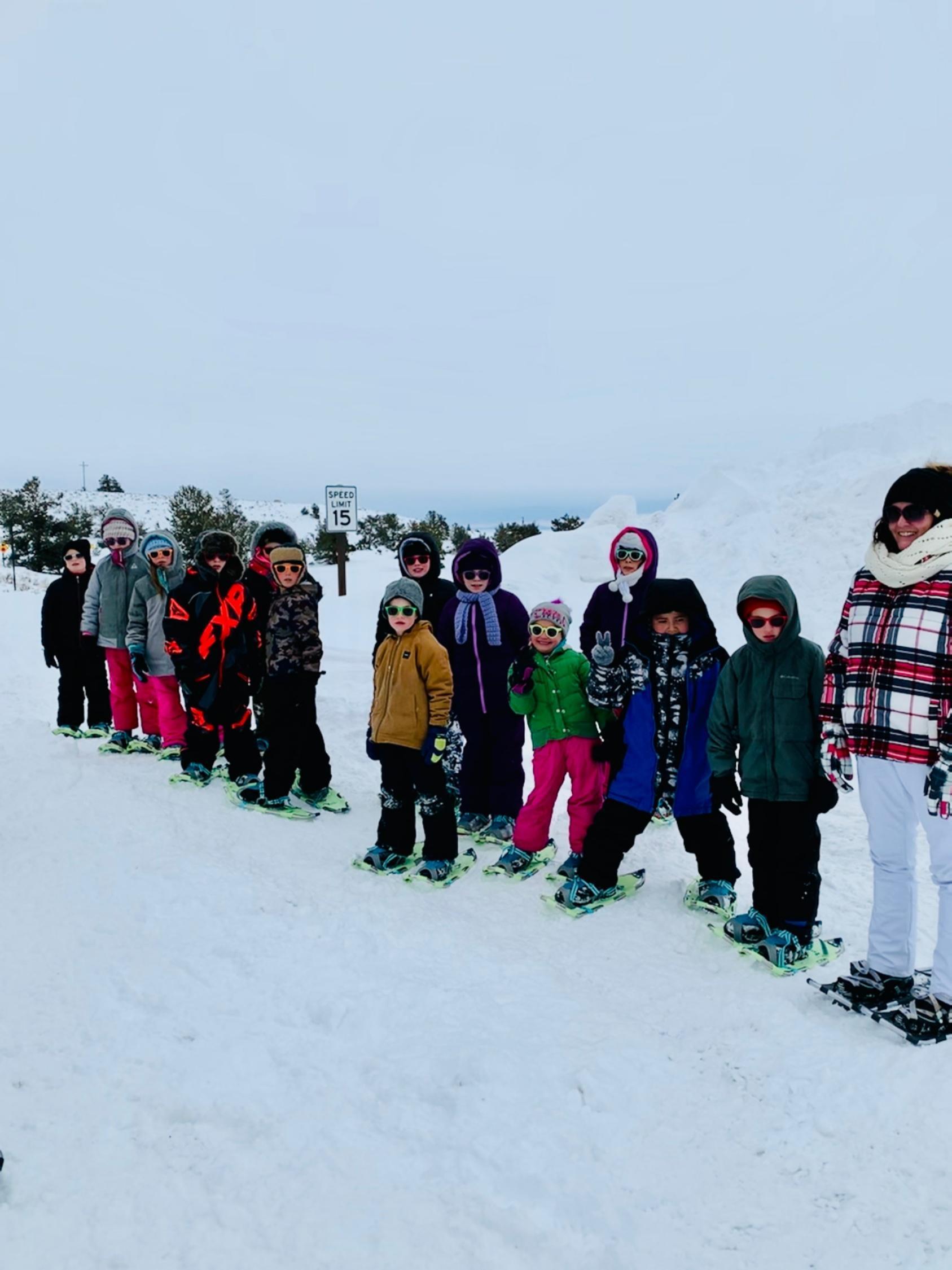 Snow Shoe School