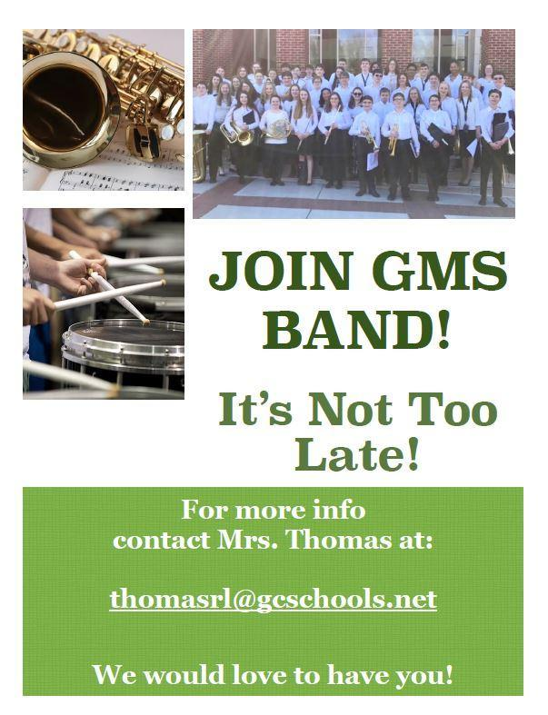 Join GMS band