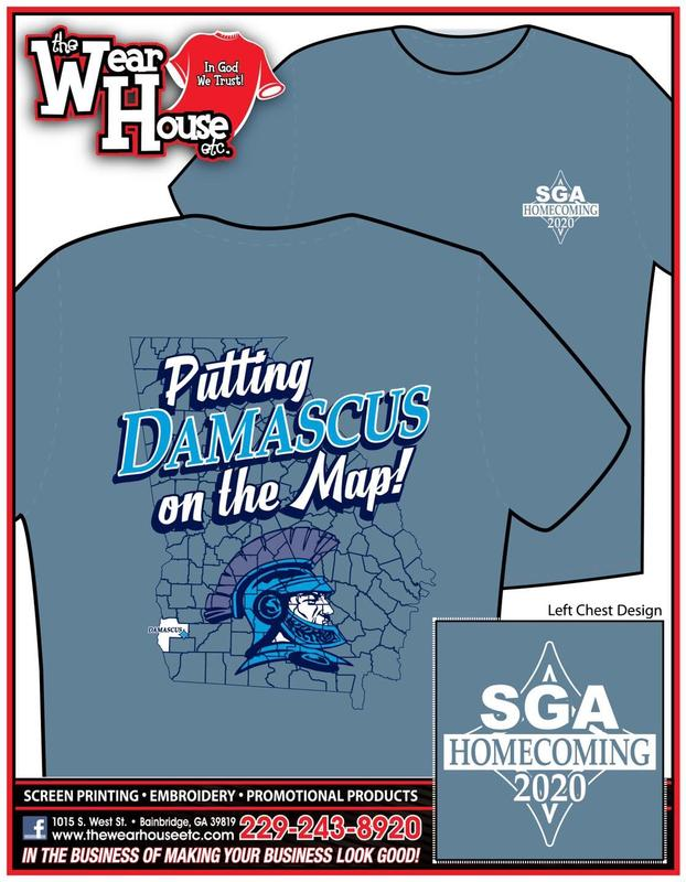 SGA Homecoming T-Shirts Featured Photo