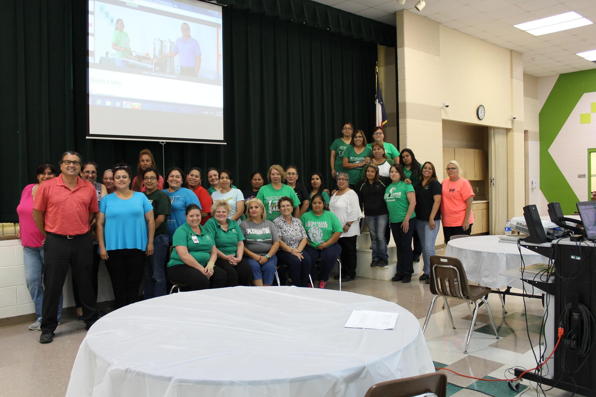 2018-2019 PLEASANTON ISD CHILD NUTRITION STAFF