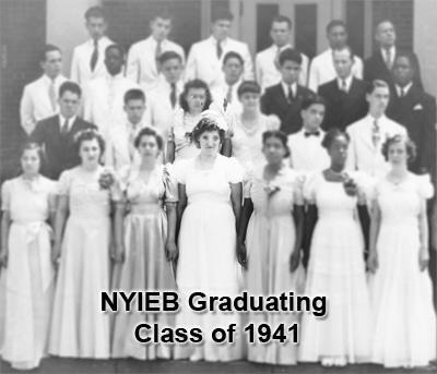 Class of 1941 with Ida highlighted