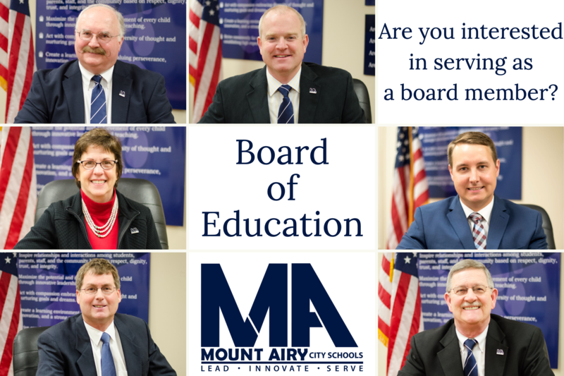 Board of Education Seeks New Member