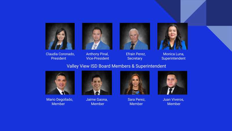 2020-2021 Valley View ISD School Board Members & Superintendent Thumbnail Image