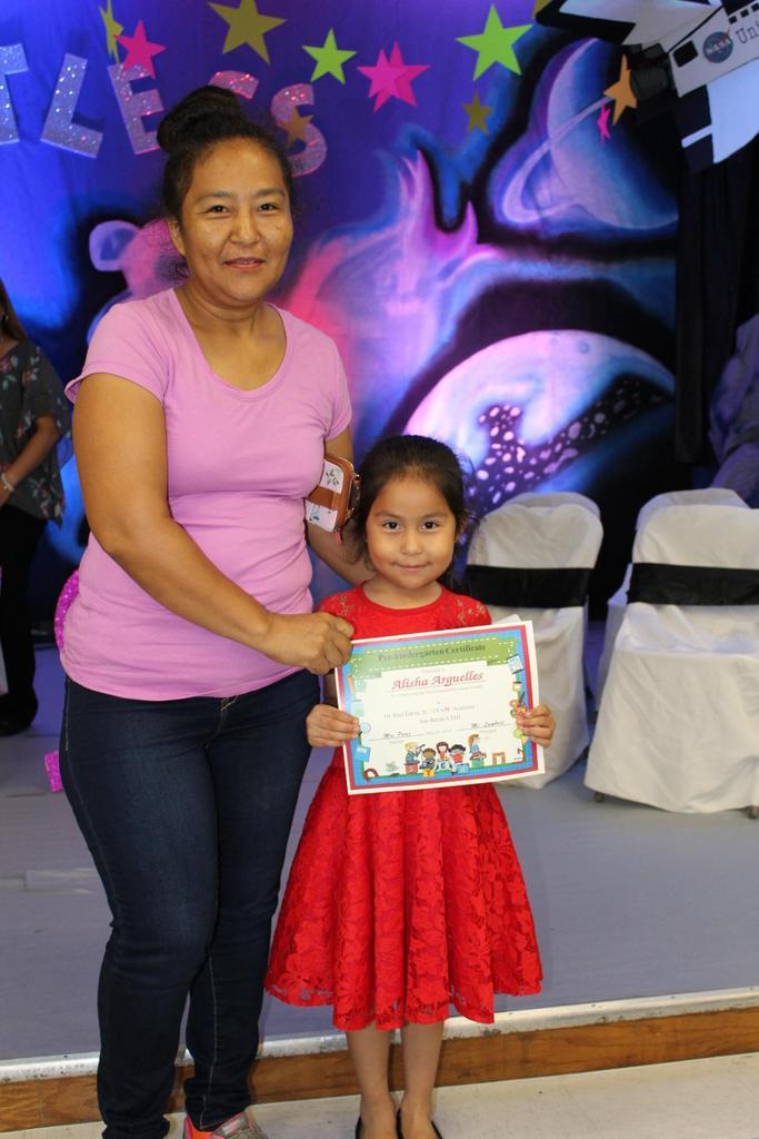 Pre-Kindergarten Presentation of Certificates